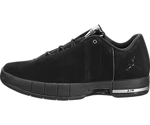 Jordan Nike Men's TE 2 Low Basketball Shoe, Black/Black/Black, 10 M US by Jordan