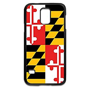 Samsung Galaxy S5 Cases Flag USA Maryland State Design Hard Back Cover Cases Desgined By RRG2G