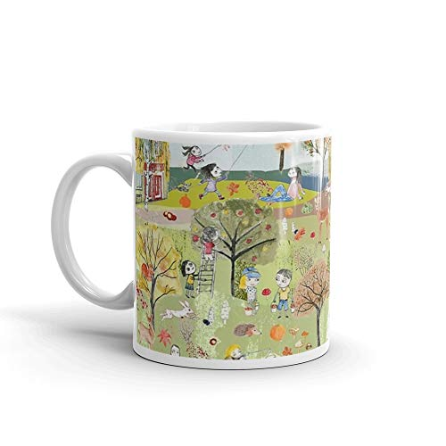 Autumn Hidden Object - Autumn Mug 11 Oz White Ceramic -