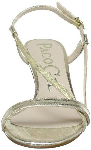 Paco Gil P-2461 - Sandalias de cuero para mujer Marrón (Braun (PLATINO))