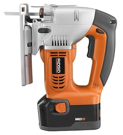 Amazon.com: Fábrica RIDGID R843 - Sierra de cortar (18 V ...