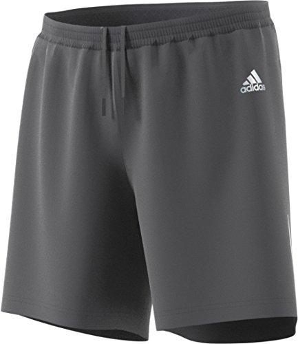 adidas Mens Running Shorts, Grey Five, Large/7