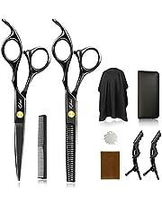Qhui Professionele haarschaar voor salon, kappers of thuis, voor kappers, vrouwen, mannen en kinderen, licht en scherp