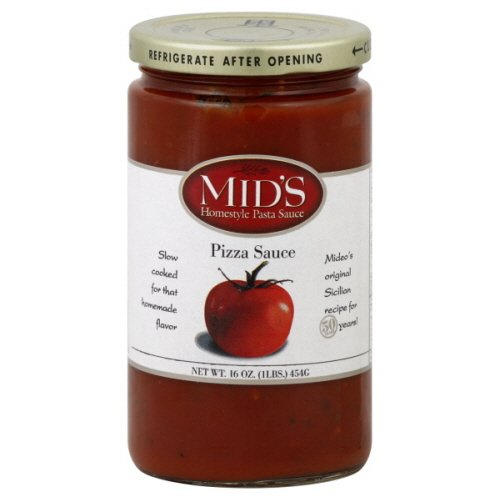 Mid's Pizza Sauce, 16 Oz. (Pack of 4)