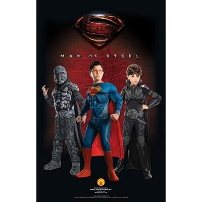 Rubie's Costume Man Of Steel Superman Romper: Clothing