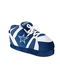 FREE SHIPPING - OFFICIALLY LICENSED Happy Feet and Comfy Feet Mens and Womens NFL Sneaker Slippers