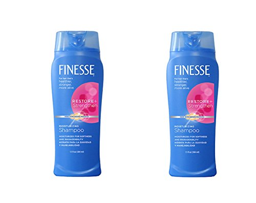 Price comparison product image Finesse Moisturizing Shampoo 13 Oz. (Pack of 2)