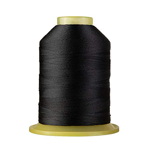 Bonded Polyester Sewing Thread 1695 Yard High Strength Sewing Thread 210D/3 for Sewing Awnings, Tents Industrial, Home Textile, Leather Goods, Footwear, Luggage, Shoes, Car Mats, Upholstery