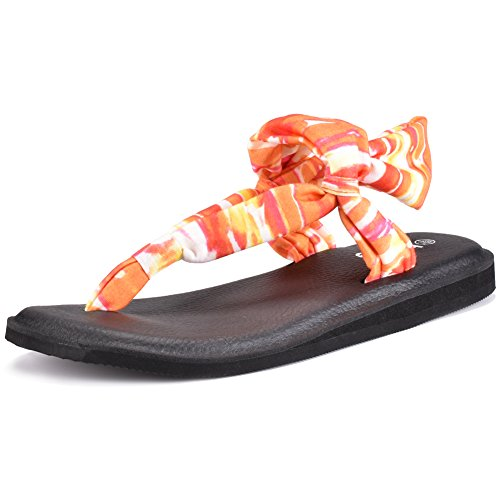 f7b2147ee4b1 Boree Womens Sling Fabric Sandals. Review - Boree Women s Yoga Flip Flop  Sling Fabric Sandals. By Boree    . 10