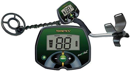 Teknetics Eurotek Euro Tek 8Metallsuchgerät Metal Detector Metaldetector Gold