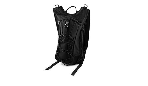 Amazon.com : eDealMax al aire Libre Para Bicicleta que va de excursión Running Escalada Ciclismo de hidratación Mochila Negro w la vejiga del agua 2.5L ...