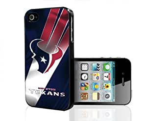 Houston Texans Football Sports Hard Snap on Cell Phone Case Cover iPhone (4 4s)