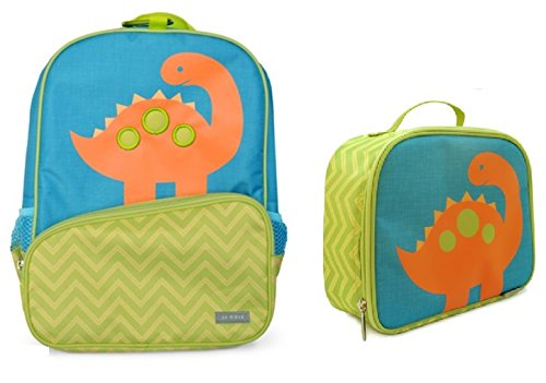 JJ Cole Backpack and Lunch Bag Set (Dino)