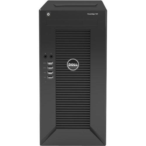 Dell PowerEdge T20 tower Server System /Intel Xeon E3-1225 v3 3.2GHz Quad Core CPU / 4GB Memory / 1TB Hard Drive / DVDRW Drive / No Operating System