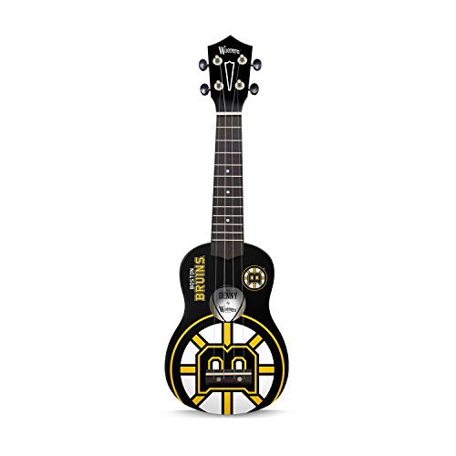 (Woodrow Guitar by The Sports Vault NHL Boston Bruins Ukulele)
