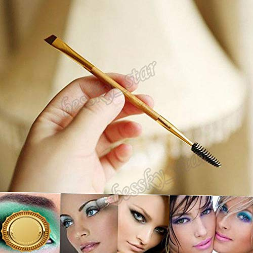 - Gatton STAR Makeup Bamboo Handle Double Eyebrow Brush Comb Mascara Wands Cosmetic Tool | Style MKPBRUSH-21181468