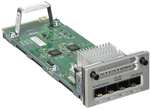 Cisco 4-Port Gigabit LAN Expansion module for Catalyst 3850-24/3850-48 (C3850-NM-4-1G) by Cisco