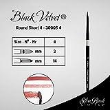 Silver Brush Limited 3000S4, Size 4, Black Velvet
