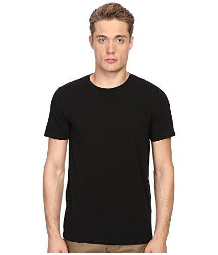 - Vince Men's Favorite Pima Cotton Short-Sleeve Crew-Neck T-Shirt, Black, Small