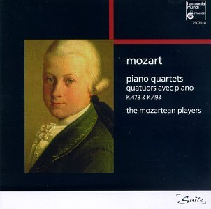 Piano Quartets K.478 & K.493