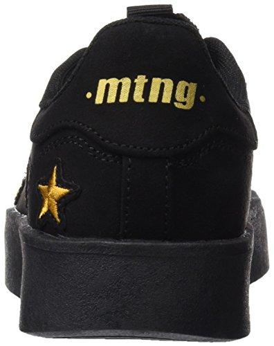 MTNG Attitude Baker, Zapatillas de Deporte para Mujer Negro (Soft Negro)