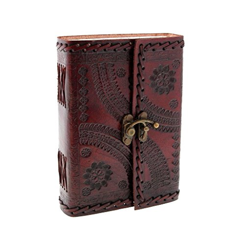 Leather Journal Diary Notebook for Writing Leather Diary Handmade Leather (Leather Award)