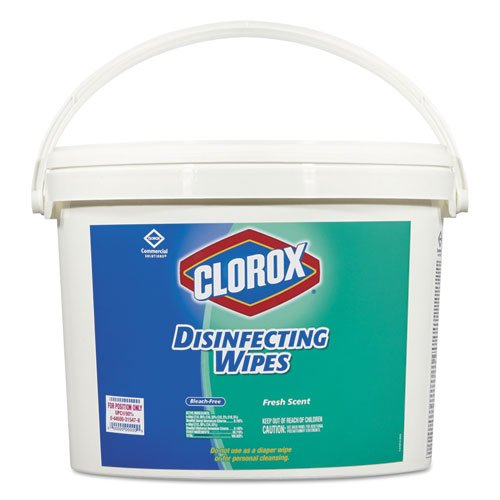 Clorox 31547 Disinfecting Wipes 7 x 7 Fresh Scent 700/Bucket