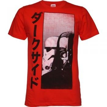 Star Wars Darth Vader The Dark Side Men's T-Shirt, (XX-Large/Strawberry)