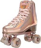 Impala Rollerskates Girl's Impala Quad Skate (Big Kid/Adult) Marawa Rose Gold 9 M