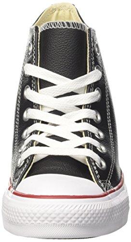 Femme Hautes Ctas Mid black Noir Baskets black Lux Converse white IXaqwC