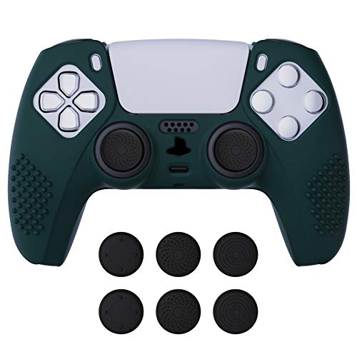 funda + sticks para control playstation 5 Extremerate verde