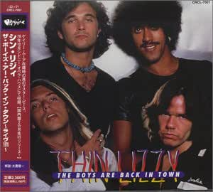 Thin Lizzy Boys Are Back In Town Live In Australia Music