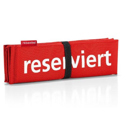 reisenthel Seatpad, Sitzkissen, Stuhlkissen, Kissen, Rot, SM0050
