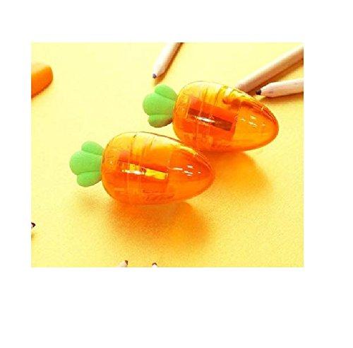 (Cute Small Carrot Pencil Sharpener)