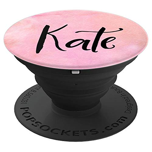 (Kate Personalized Custom Name Pop Socket - PopSockets Grip and Stand for Phones and Tablets)