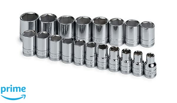 SK 1854 14 Piece 3//8-Inch Drive 6 Point 6-Millimeter to 19-Millimeter Deep Socket Set