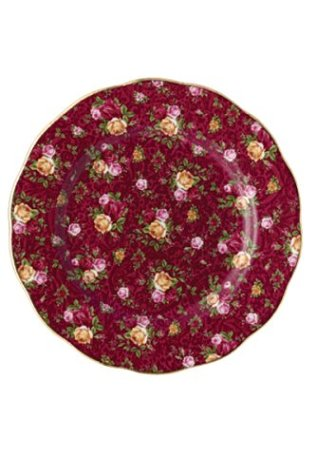 Royal Albert Collectible Teas Ruby Lace Salad Plate