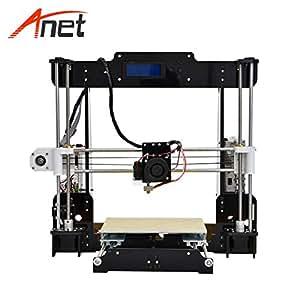 Amazon.com: Anet A8 3D Printer High Accuracy Acrylic PLA 3D ...