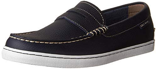 Cole Haan Men's Pinch Weekender Loafer, Peacoat Leather, 13 M US (Cole Haan Moccasins Women)