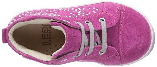 Lepi 3309LEQ - zapatillas de running de cuero bebé rosa - Pink (3309 C.03 FUXIA)
