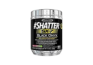 MuscleTech Shatter SX-7 Black Onyx, Cherry Limeade Twist, 60 Servings