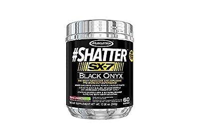 MuscleTech Shatter SX-7 Black Onyx, Cherry Limeade Twist, 60 Servings