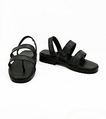Kabaneri De La Fortaleza De Hierro Ikoma Cosplay Zapatos Botas Custom Made