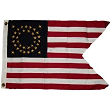 New They can be used indoors or outdoors.2x3 Embroidered Union Cavalry Guidon Sewn 100% Premium Cotton Flag 2'x3' 2 Clips.The authentic design is based on information from official sources