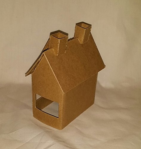 Amazon Com Putz Style Little Village Cardboard Tudor House Arts