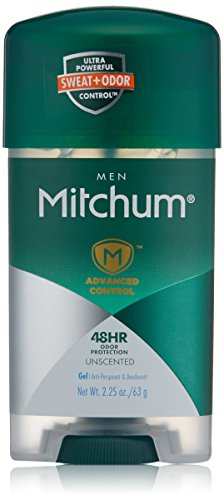 Free Gel Perspirant Anti Alcohol - Mitchum Clear Gel, 4 Count