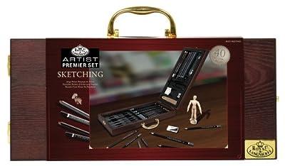 Royal & Langnickel Premier 40 Piece Sketching Artist Case