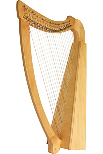 Roosebeck 22-String Heather Harp Celtic Irish Style - Lacewood