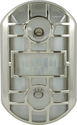 GE 11466 Motion Activated Brushed Nickel
