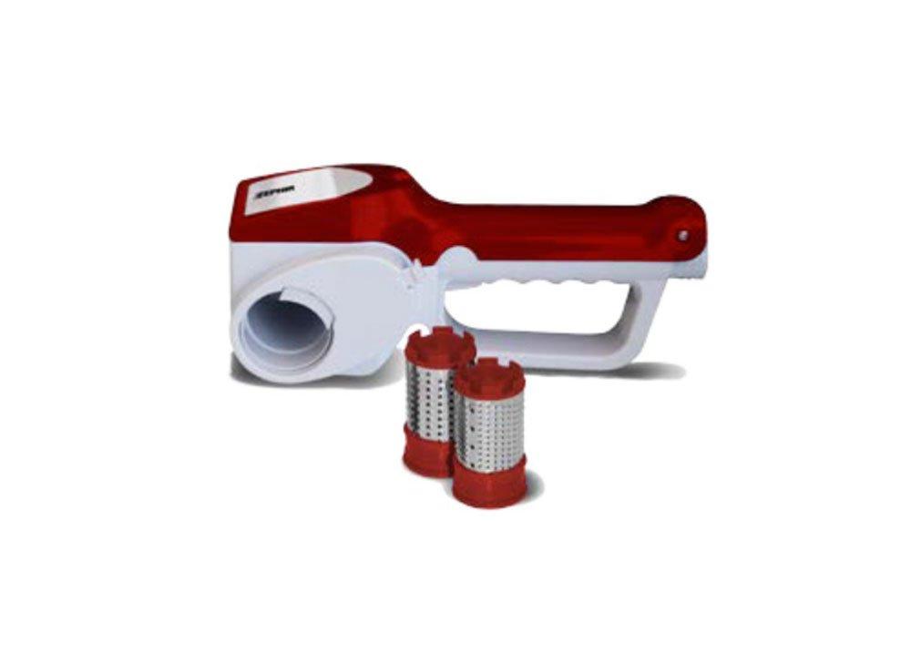 Zephir ZHC28 - Rallador (Batería, 25W, 230V, 25,2 cm, 10,5 cm, 9,5 cm) Rojo